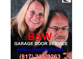 Fort Worth garage door repair B&W Garage Doors of Fort Worth