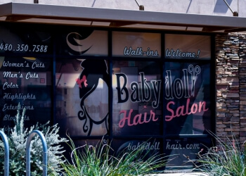Mesa hair salon Babydoll Hair