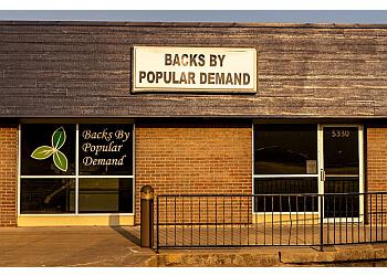 Topeka massage therapy Backs by Popular Demand