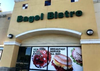 Fullerton bagel shop Bagel Bistro