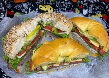 Winston Salem bagel shop Bagel Station