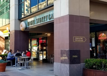 Oakland bagel shop Bagel Street Cafe