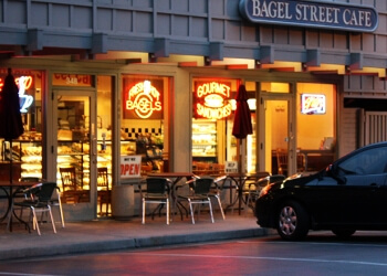 Sunnyvale bagel shop Bagel Street Cafe