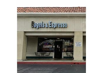 Fullerton bagel shop Bagels & Espresso