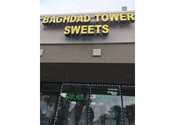 Sterling Heights cake Baghdad Tower Sweets