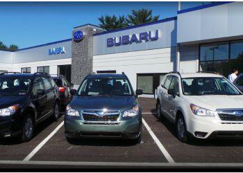 Pittsburgh car dealership Baierl Subaru