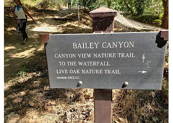 Pasadena hiking trail Bailey Canyon Wilderness Park