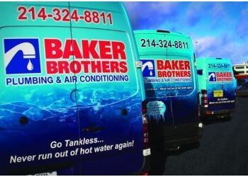 Dallas plumber Baker Brothers Plumbing, Air & Electric