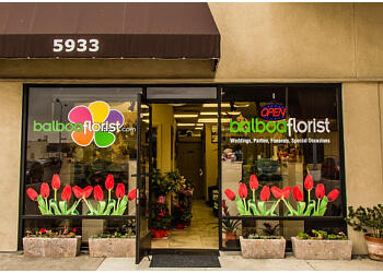 San Diego florist Balboa Florist