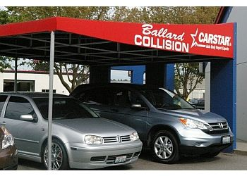 Seattle auto body shop Ballard Collision CARSTAR