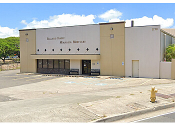 Honolulu funeral home Ballard Family Moanalua Mortuary