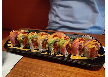 Birmingham sushi Bamboo on 2nd