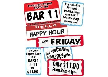 Pittsburgh night club Bar 11