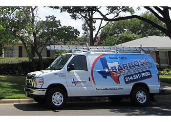 Dallas plumber Barbosa Plumbing & Air Conditioning