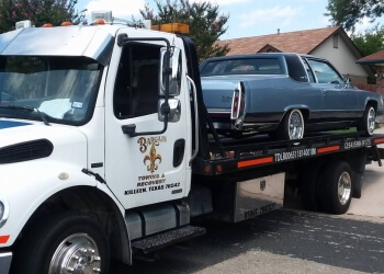 Killeen towing company Bargain Towing & Recovery Service
