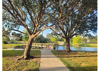 Orlando public park Barnett Park