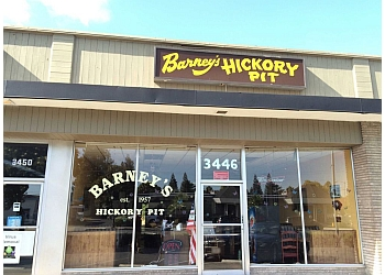 Concord barbecue restaurant Barney's Hickory Pit