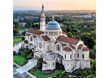 Washington church Basilica of the National Shrine of the Immaculate Conception