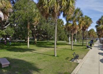 Charleston public park Battery & White Point Gardens