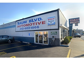 Pittsburgh car repair shop Baum Boulevard