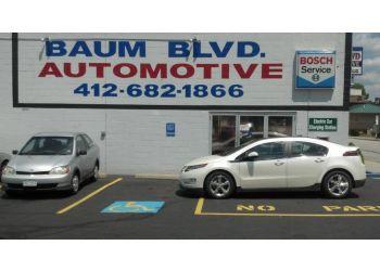 Pittsburgh car repair shop Baum Boulevard Automotive