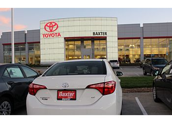 Lincoln car dealership Baxter Toyota Lincoln