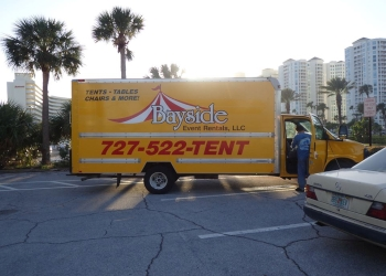 St Petersburg rental company Bayside Event Rentals