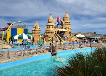 Brownsville amusement park Beach Park At Isla Blanca