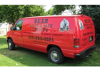 Baltimore locksmith Bear Lock & Safe Service
