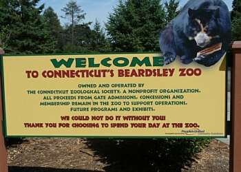 Bridgeport places to see Beardsley Zoo