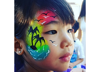 San Jose face painting Beautiful Mynd Creationz