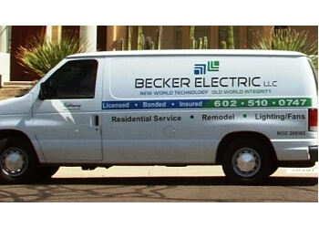 Scottsdale electrician Becker Electric LLC