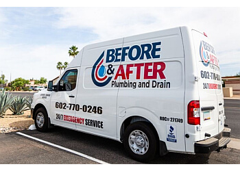 Surprise plumber Before & After Plumbing and Drain, LLC