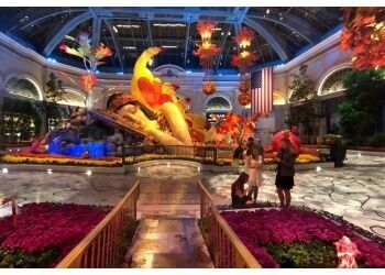 Las Vegas places to see Bellagio Conservatory & Botanical Gardens
