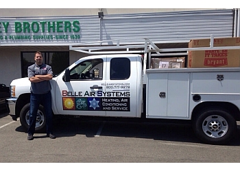 Roseville hvac service Belle Air Systems