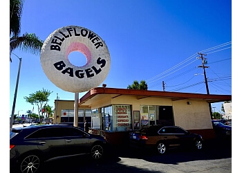 Downey bagel shop Bellflower Bagels