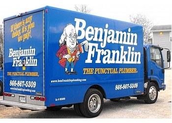 Cedar Rapids plumber Benjamin Franklin Plumbing