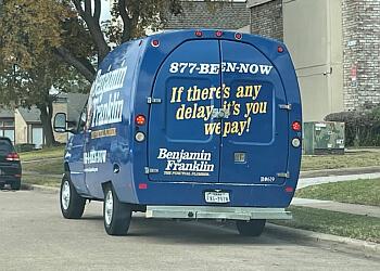 Plano plumber Benjamin Franklin Plumbing