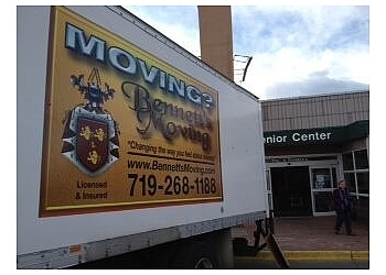Colorado Springs moving company Bennett's Moving