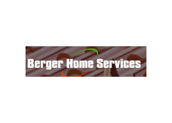Houston gutter cleaner Berger Home Services