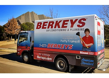 Dallas plumber Berkeys Air Conditioning, Plumbing & Electrical
