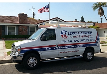Santa Ana electrician Berk's Electrical and Lighting