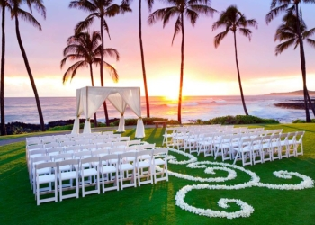 Honolulu rental company Best Party Rentals