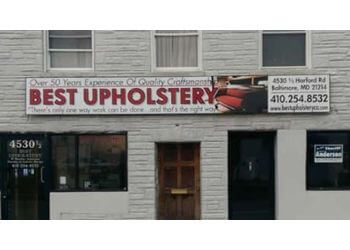 Baltimore upholstery Best Upholstery Company