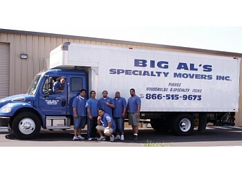 Vancouver moving company Big Al's Specialty Movers, Inc.