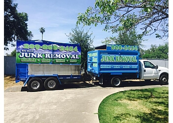 Stockton junk removal Big Blue Junk Removal