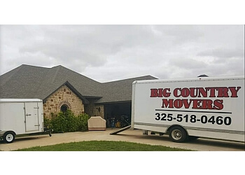 Abilene moving company Big Country Movers