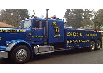 Seattle towing company Big D Towing