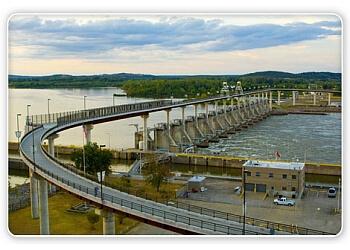 Big Dam Bridge Foundation Little Rock Landmarks