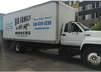 Oakland moving company Big Family Movers